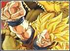 """Letteralmente """"Pugno del Drago"""" (Esplosione del Pugno del Drago) è il devastante attacco che Goku SSJ3 usa contro il demone Hildegarn nel movie 13 di Dragon Ball Z. Goku sferra un potentissimo pugno che perfora il corpo dell'avversario e dà origine ad un drago dorato che distrugge il nemico avviluppandolo e stritolandolo. Questa tecnica viene riproposta nell'episodio 47 di Dragon Ball GT, quando Goku (in questa parte tornato bambino) la usa contro l'androide Super 17."""