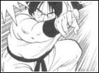 """Si tratta del """"Nuovo Colpo del Vento e delle Zanne del Lupo"""", cioè un miglioramento che Yamcha applica al suo precedente attacco del Rogafufuken e che usa per la prima volta al 22° Tenkaichi contro Tenshinhan."""