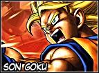 Goku é nato sul pianeta Vegeta ma é cresciuto sulla Terra, il suo obiettivo era distruggere tutti gli abitanti del pianeta e conquistare dopo anni il pianeta, questa era la sua missione come Saiyan. Ma ha incontrato Son Gohan, che durante la storia sarebbe diventato suo nonno, grazie ad una botta in testa ha cambiato personalità e invece di fare il cattivo è diventato buono con tutti. Dopo la morte di suo nonno e l'incontro con Bulma decide di andare alla scoperta del mondo, farà la conoscienza di molti personaggi, tra cui anche il Maestro Muten, sarà lui ad insegnare a Goku la famosa Kamehameha. Durante la storia raggiungerà livelli strepitosi, testando tutti i livelli conosciuti di Super Saiyan, é sicuramente il guerriero più forte dell'intera serie di Dragon Ball.
