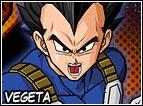 Vegeta é il principe dei Saiyan, si considera il più potente dei Saiyan sopravvisuti ed é molto orgoglioso. Una volta arrivato sulla Terra combatterà con Goku pensando di essere il numero uno, ma riceverà una brutta sconfitta e dovrà tornarsene a casa strisciando. Si rivedrà poi nel pianeta Namek è si unirà con i terrestri per la dura lotta contro Freezer. Alla fine poi sposerà Bulma e avrà due figli, Trunks e Bra. Anche una volta alleato con i Tterrestri resterà sempre in competizione con Goku, perché il suo orgoglio gli impedisce di accettare di restare dietro al suo rivale.