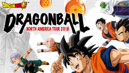 Dragon Ball Tour 2018 negli Stati Uniti e in Canada