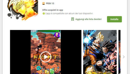 Dragon Ball Legends, disponibile in Italia sul PlayStore