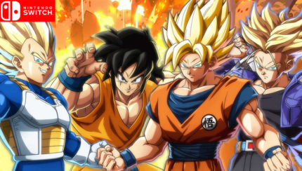 DB FighterZ, arriva la versione Nintendo Switch