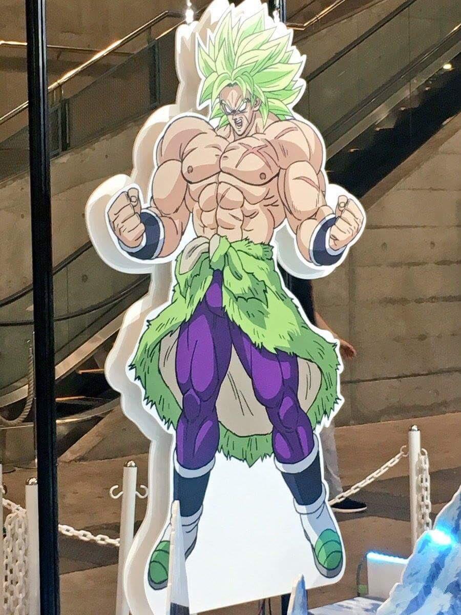 Dragon Ball Super: Broly, spuntano le prime immagini