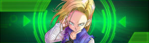 dragon ball legends androide 18 sparking