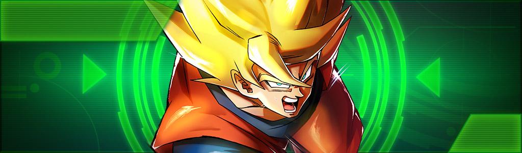 dragon ball legends goku super saiyan sparking