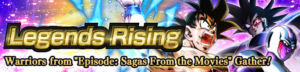 dragon ball legends summon legends rising