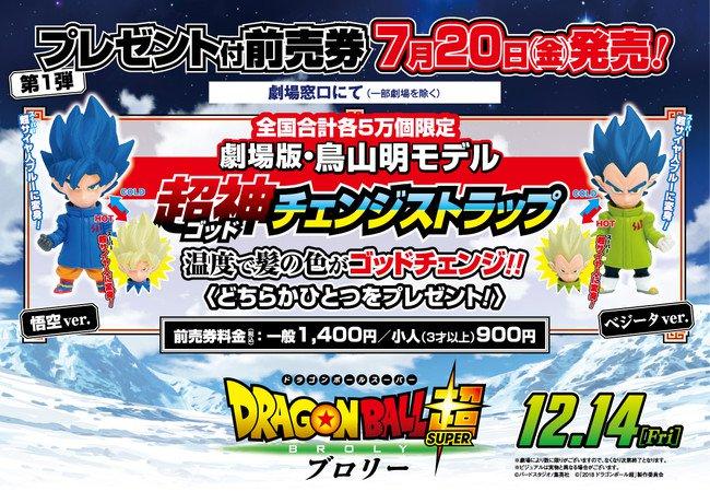 Dragon Ball Super: Broly sarà il titolo del film e nuovo messaggio di Toriyama
