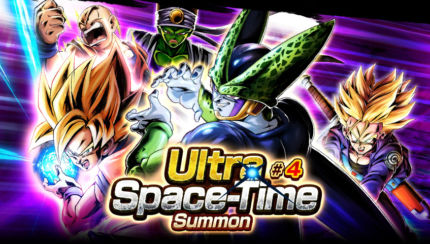 dragon ball legends summon ultra space time 4 grande