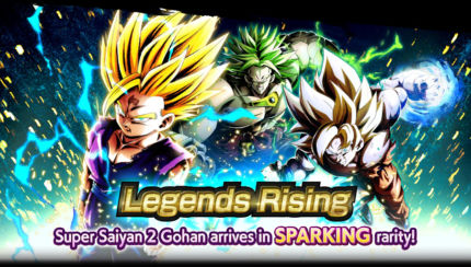 dragon ball legends rising home