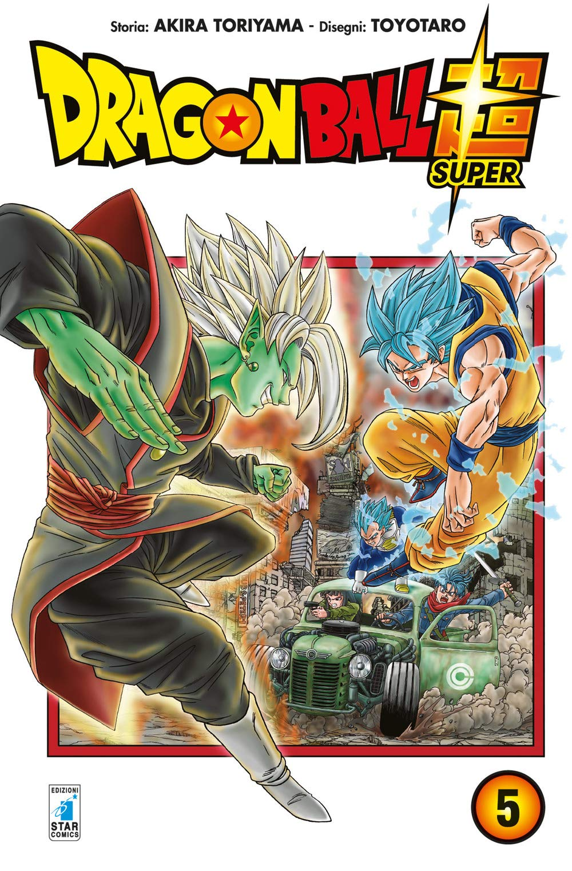 Dragon Ball Super, disponibile in Italia il quinto volume del manga