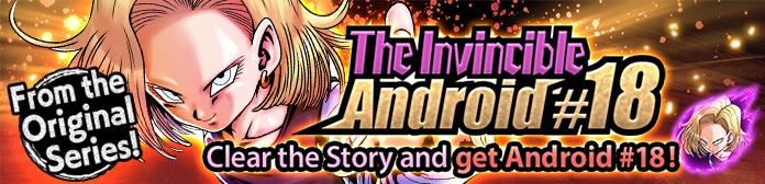 evento invincibile androide 18