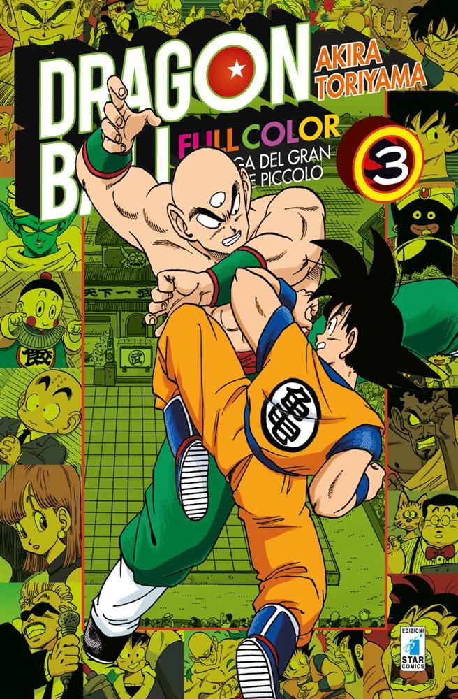Dragon Ball Full Color Volume 3 Saga Grande Demone Piccolo