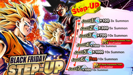 dragon ball legends black friday