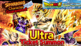 dragon ball legends ultra ticket summon 7