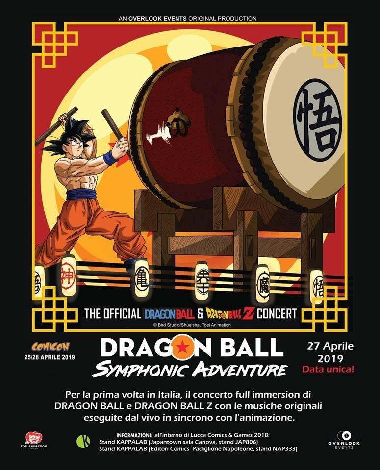 Dragon Ball Symphonic Adventure, arriverà al Comicon di Napoli