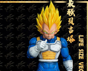 vegeta statue scale real