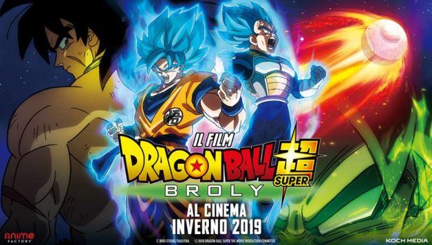 dragon ball super broly cinema italia