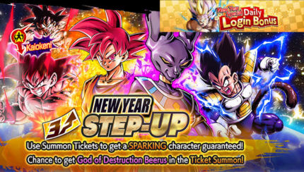 new year step up sparking summon