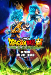 Dragon Ball Super Broly - Poster Ufficiale Italiano