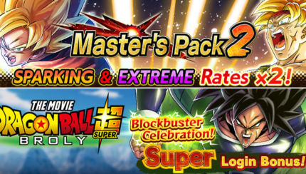 dragon ball legends masters pack 2