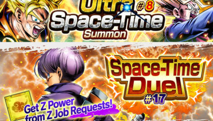 dragon ball legends ultra space time summon 8 grande