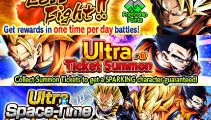 db legends left fight ultra ticket summon
