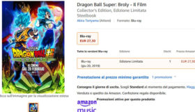 dragon ball super broly amazon home video bluray