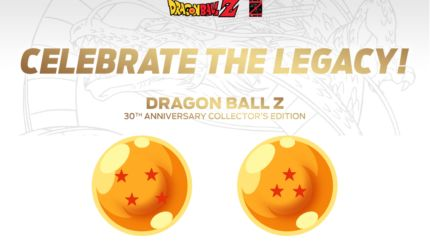 dragon ball z collection 30 anni