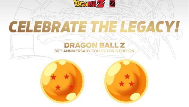 dragon ball z collection 30 anni