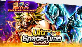 DB Legends, disponibile Ultra Space-Time Summon #12 e Login Bonus