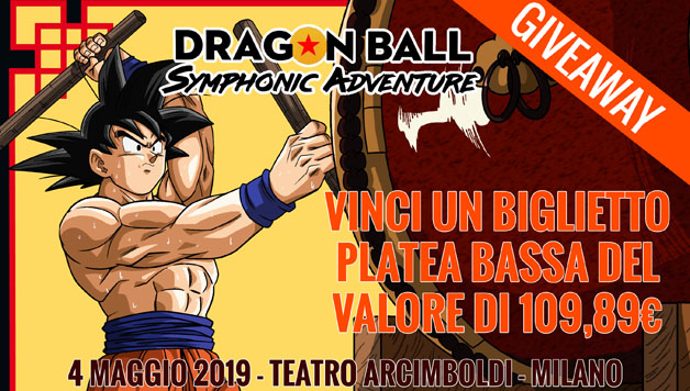 dragon ball symphonic adventure giveaway