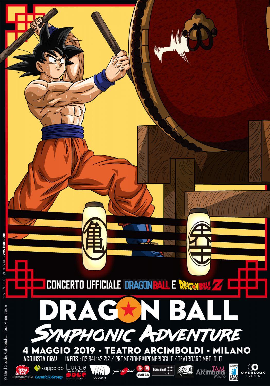 Dragon Ball Symphonic Adventure, il 4 maggio sarà a Milano, info e biglietti