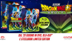 Dragon Ball Super: Broly, il 20 giugno esce l'Home Video