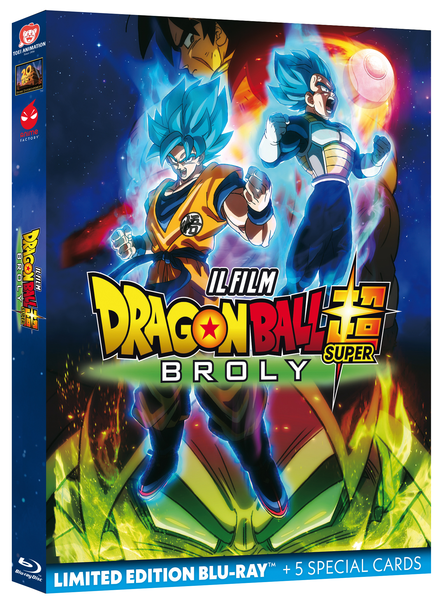 Dragon Ball Super: Broly Limited Edition BLURAY
