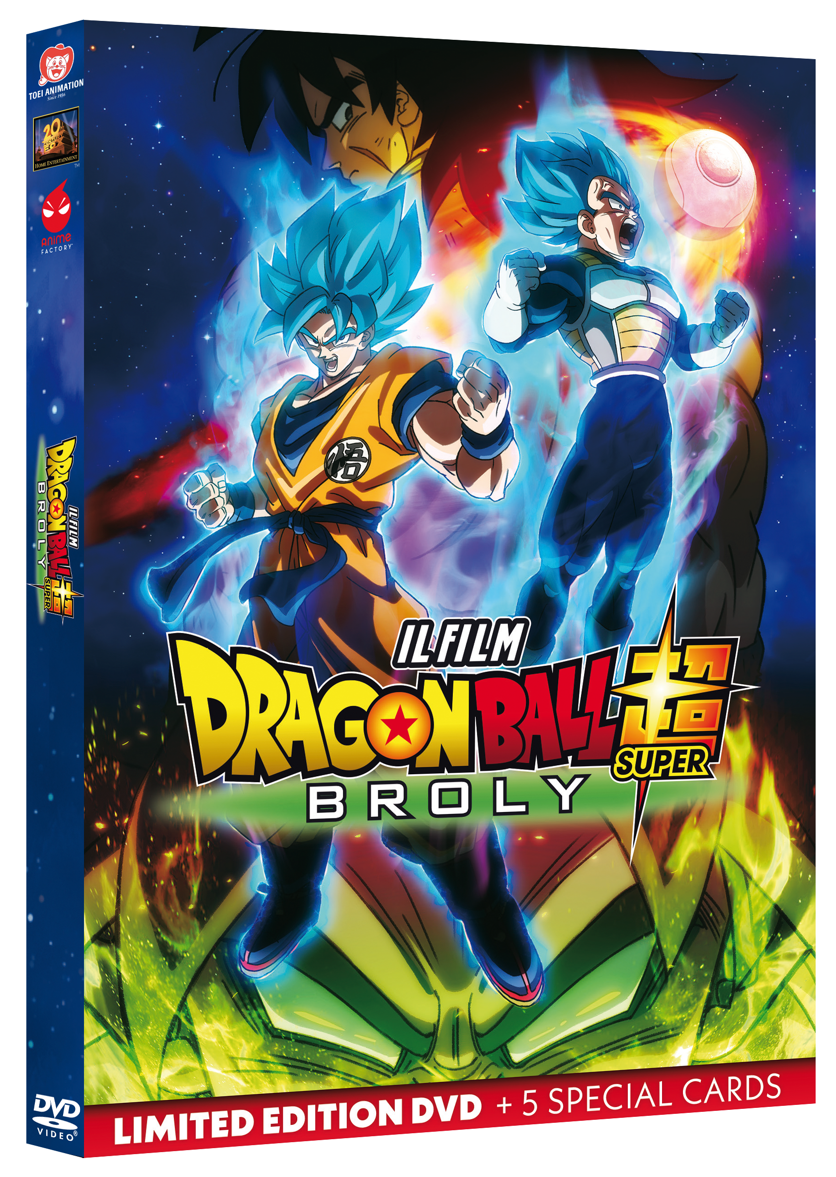 Dragon Ball Super: Broly Limited Edition DVD