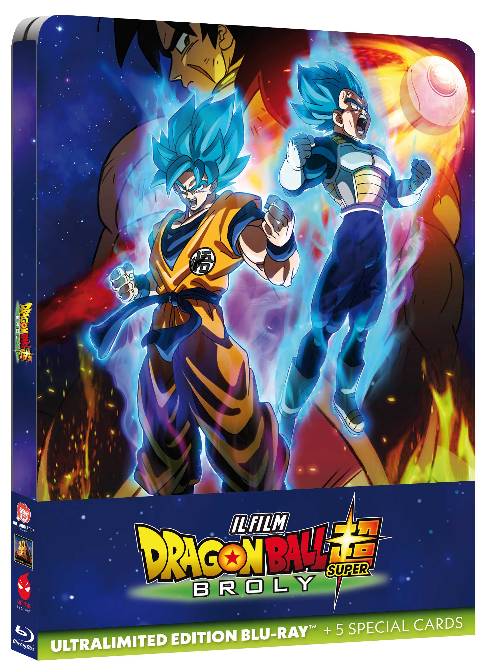 Dragon Ball Super: Broly Ultralimited Edition Bluray