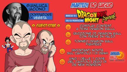 Dragon Ball New Horizon, evento speciale insieme al doppiatore di Vegeta