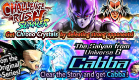 DB Legends, disponibile Cabba, the Saiyan from Universe 6
