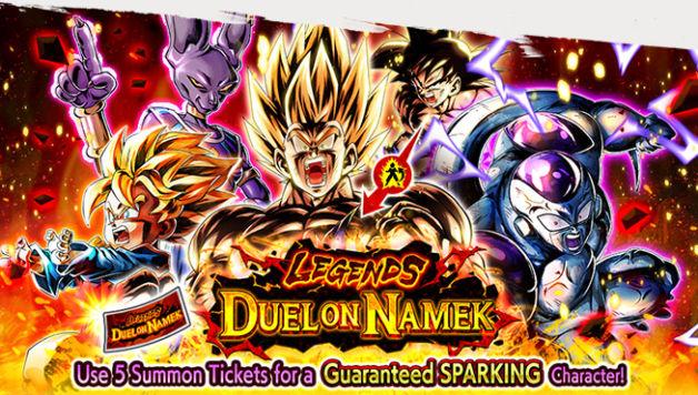 DB Legends, disponibile Legends Duel on Namek